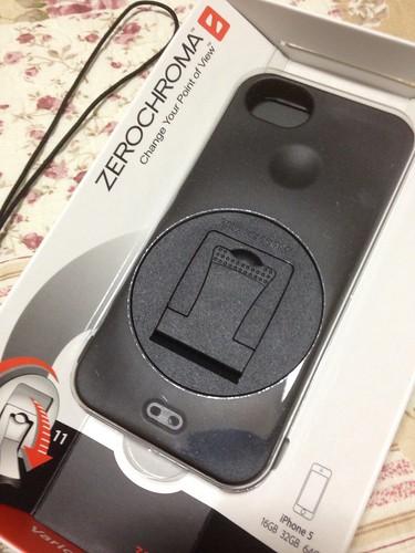 zerochroma iPhone5ケースが届きました
