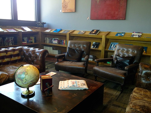 The Library at The Iron Horse Hotel
