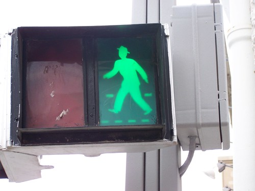 Traffic man in Nice