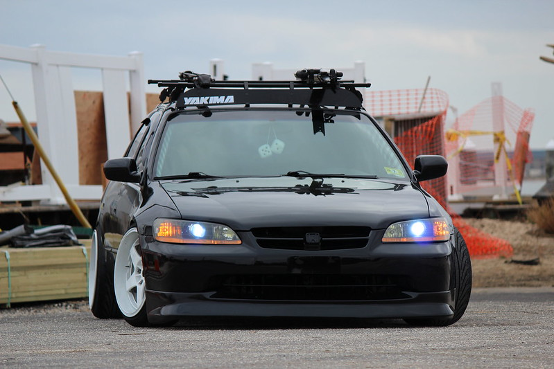 Nj stanced 99 accord tasfully modded honda for Motor vehicle suspension nj