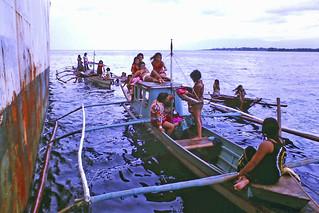 Banca boat hospitality girls