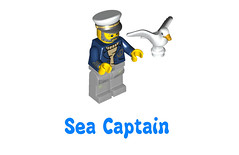 LEGO Minifigures Series 10 -  Sea Captain