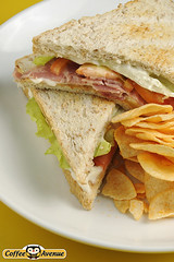 sandwich, meal, lunch, breakfast, ham and cheese sandwich, ciabatta, food, dish, cuisine,