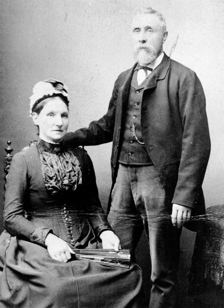 Mr & Mrs Fyfe 1890