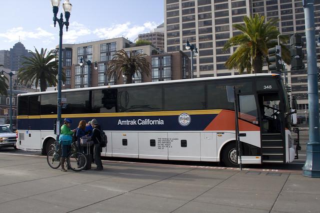Amtrak Thruway Bus