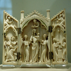 Medieval Ivory Carving