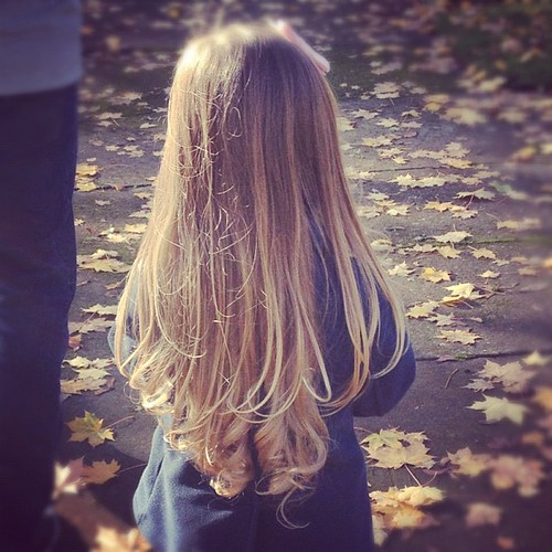 I wish the Wavy Hair Fairy would visit ME at night. #jealousmom