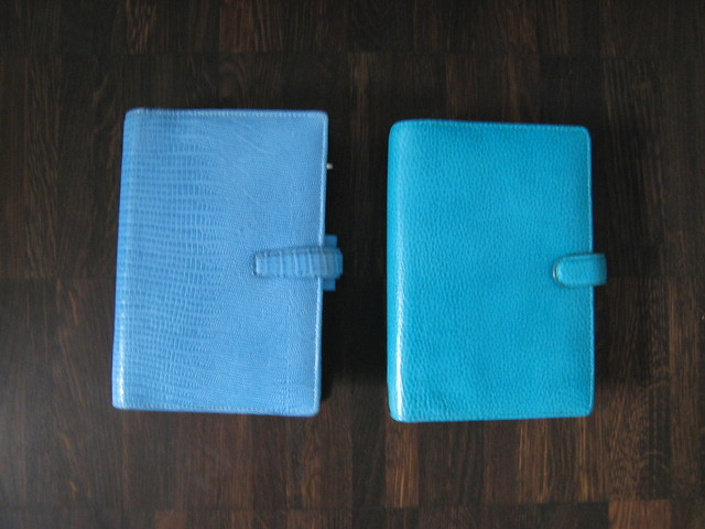 Filofax Colours (2): Blue