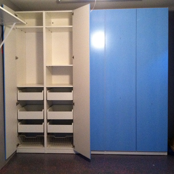 Pax System For Ikea Great For Storage In Your Garage