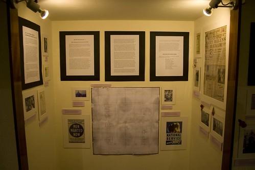 WW2 exhibition in Methodist Central Hall