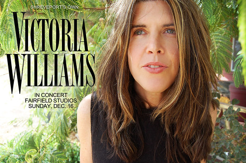Victoria Williams sings in Shreveport Sun, Dec 16 by trudeau