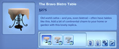 The Bravo Bistro Table