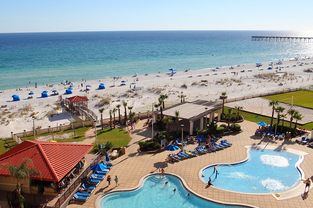 Pensacola Beach Hilton Wedding