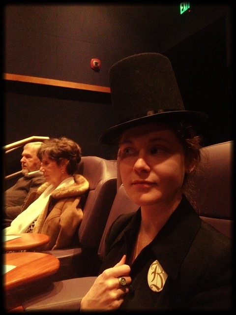 Lincoln at the Theater