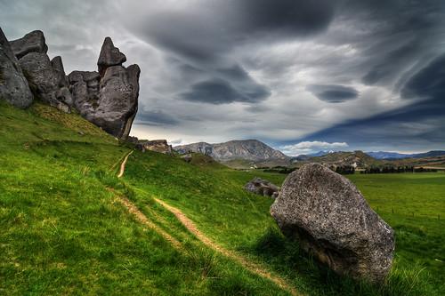newzealand sky mountains clouds landscape rocks arthurspass tokina1224 canterbury southisland nationalgeographic