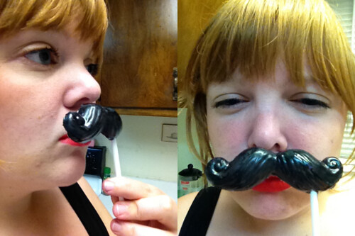 Me with Mustaches