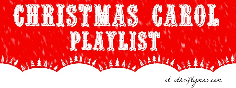 christmas carol playlist