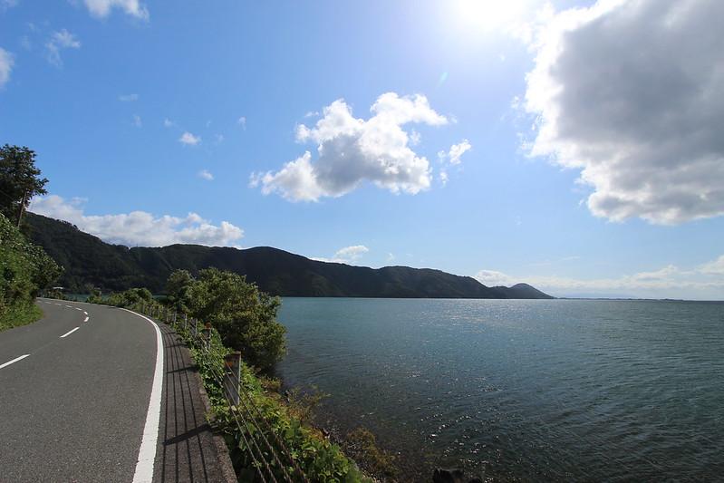 琵琶湖沿い