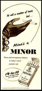Minor Cigarettes