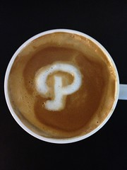 Today's latte, Path.