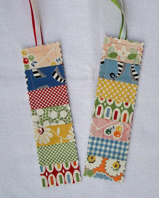 Quilted Bookmarks Flickr - Photo Sharing!