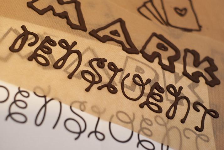 taart letters