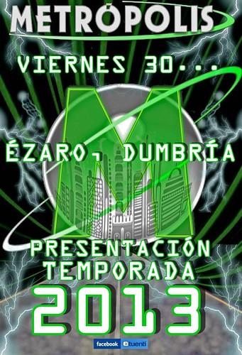 Metrópolis 2013 - Presentación - cartel