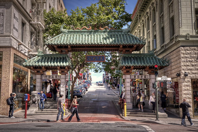 "Chinatown (""Chinatown Gate""). San Francisco"