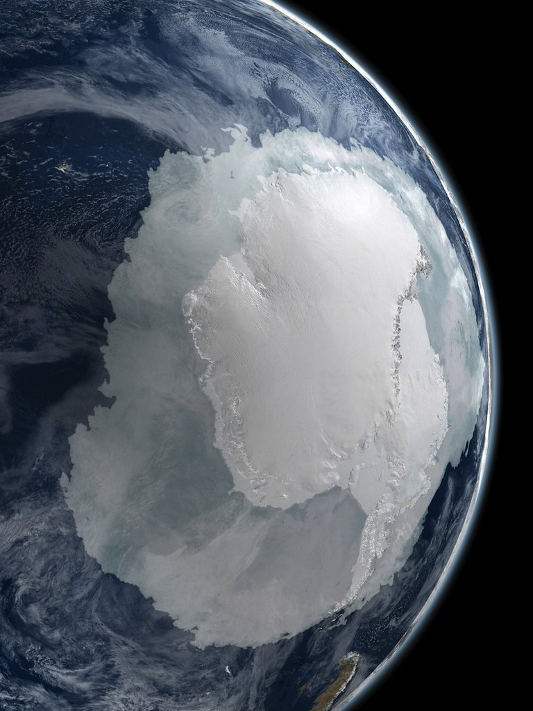 Южный полюс и Антарктида