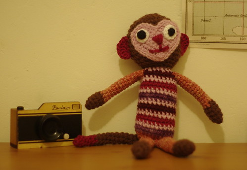 amigurumi #74 monkey magic 4