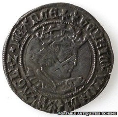 Silver groat from Kett's Rebellion Hoard