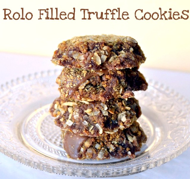 rolo filled truffle cookies meme