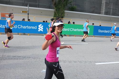 during SCMS2012 half marathon