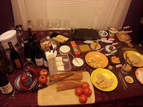 Wine & Vegan Cheese Party