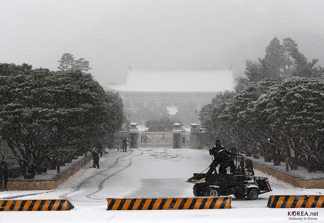 Korea Seoul Snow 01 Flickr Photo Sharing