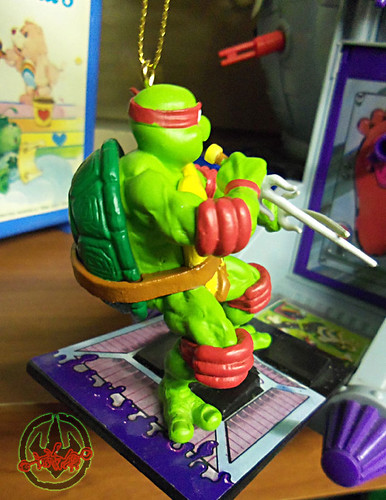 "AMERICAN GREETINGS :: TEENAGE MUTANT NINJA TURTLES - ""RAPHAEL"" Ornament iv (( 2012 ))"