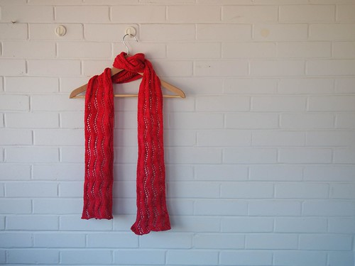 Lace Ribbon Scarf