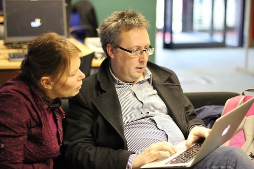 Lynn Horsnett and Nick Booth