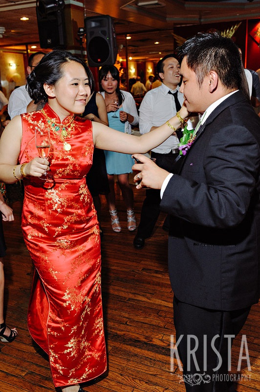 China Pearl wedding in Boston