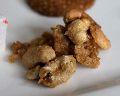 Candied Cardamom-Coconut Cashews