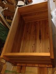 Making a wooden bathtab