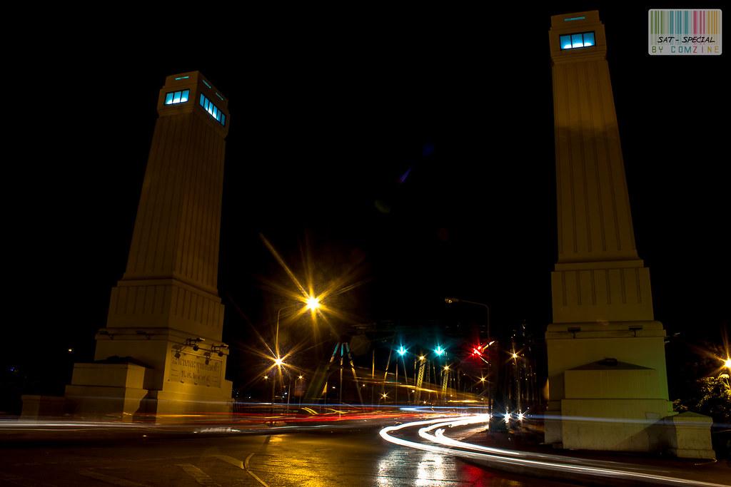 เดินเล่นกลางคืน สะพานพระพุทธฯ comzine 03
