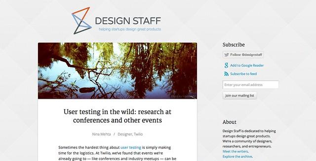 Design Staff