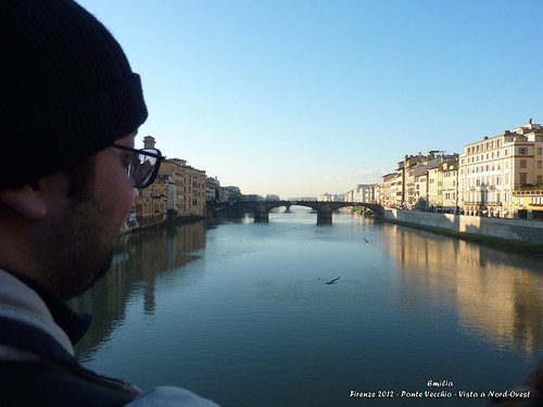 Ponte Vecchio - Vista a Nord-Ovest