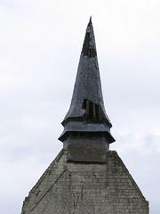 Dreuil-Hamel (église) clocher de face - Photo of Fontaine-le-Sec