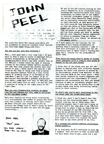 John Peel interview
