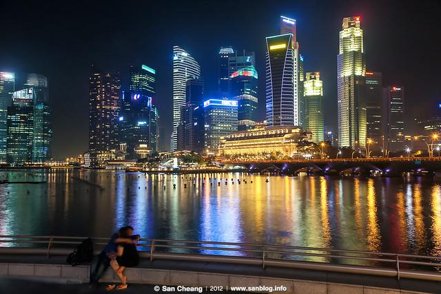 Singapore Night Scene