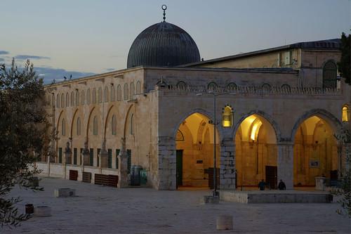 The Farthest Mosque (al-Masjid al-Aqsa § Bayt al-Muqaddas) in Jerusalem