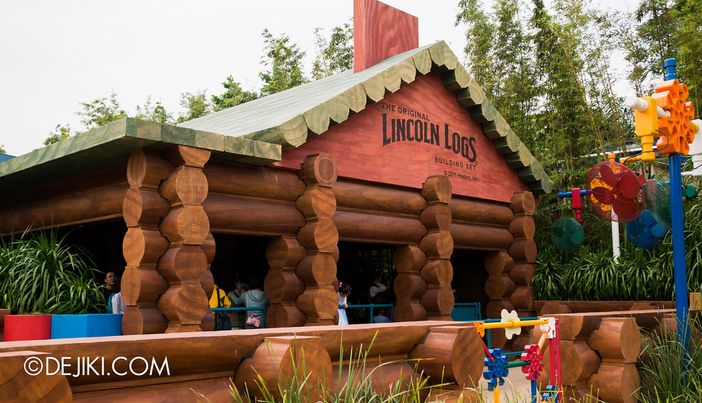 Slinky Dog - Lincoln Logs