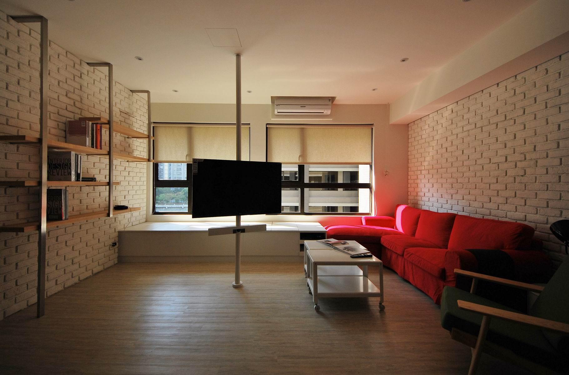 住宅設計-美式loft風2